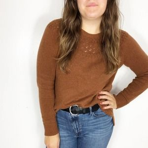 SONOMA | Autumn Fall Brown Chunky Knit Sweater